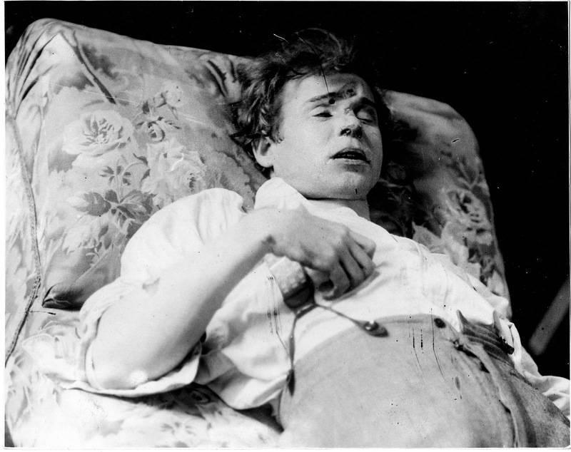Il poeta del villaggio. Sergey Alexandrovich Yesenin