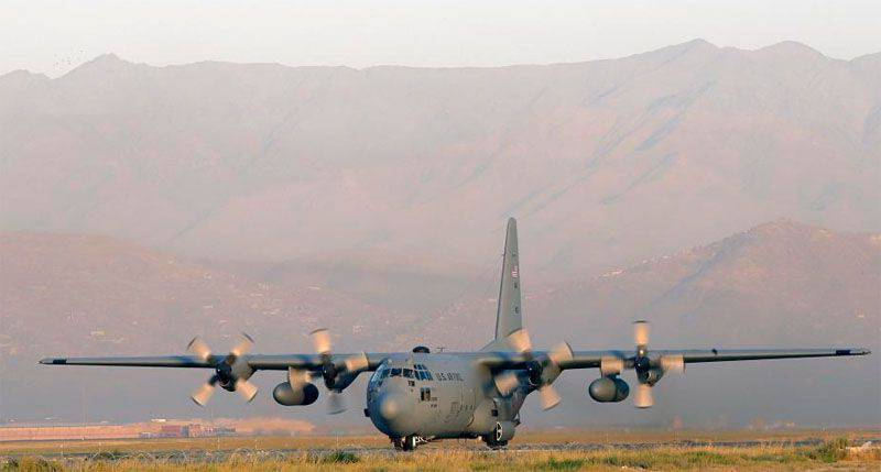 Flugzeug C-130 Hercules US Air Force stürzte in Afghanistan ab