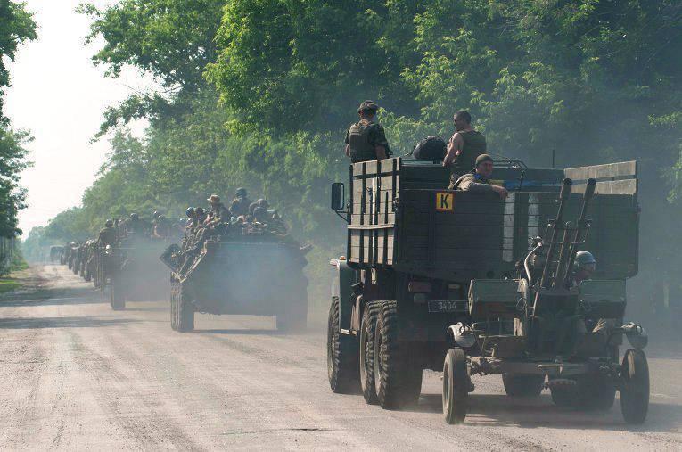 Basurin: DPR sol abatido 4 zangão ucraniano