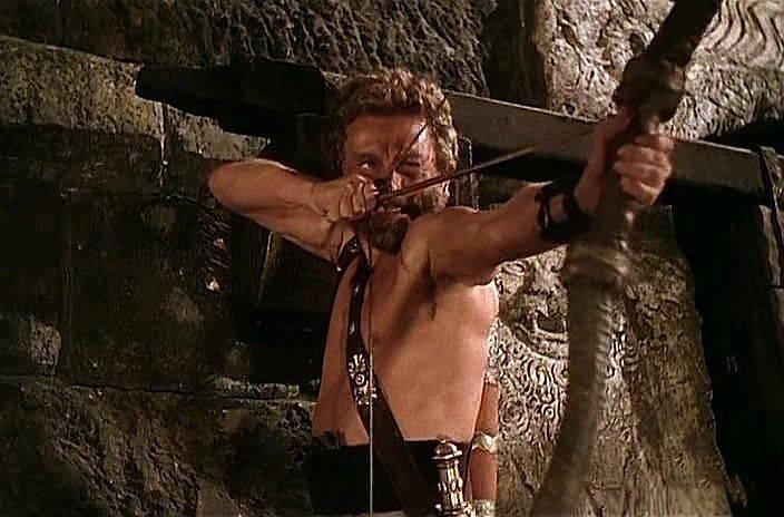 Armas da Guerra de Tróia. Arco e flechas (parte seis)