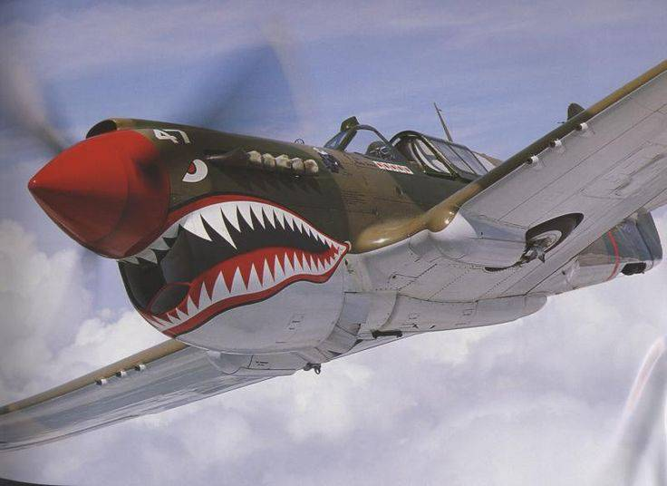 "P-40 ""Kittyhawk"". Camino evolutivo de Curtiss"