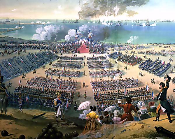İngiltere'ye karşı Rusya. Fransa ile bir savaşa katılmak. 2'in bir parçası