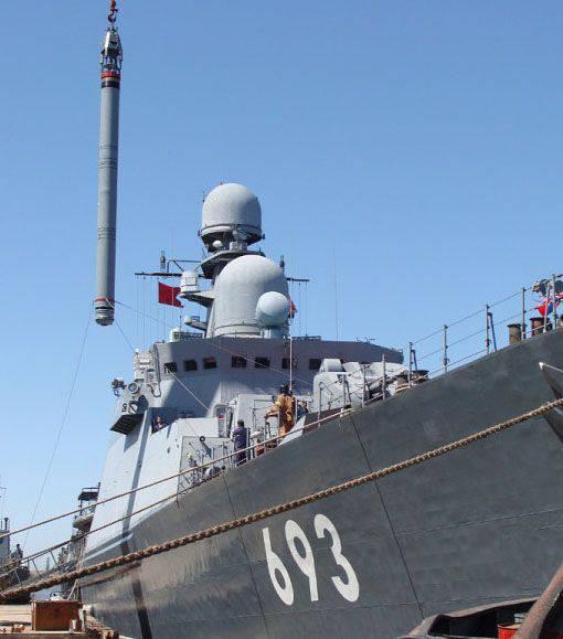 Die Raketenschiffe der Kaspischen Flottille trafen mit Marschflugkörpern auf ISIL-Positionen in Syrien. Video