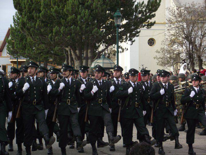 Carabinieri case. Public Security Forces in Chile