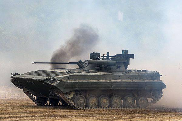 Crews BMP-3 artırılmış gerçeklik gözlükleri kullanacak
