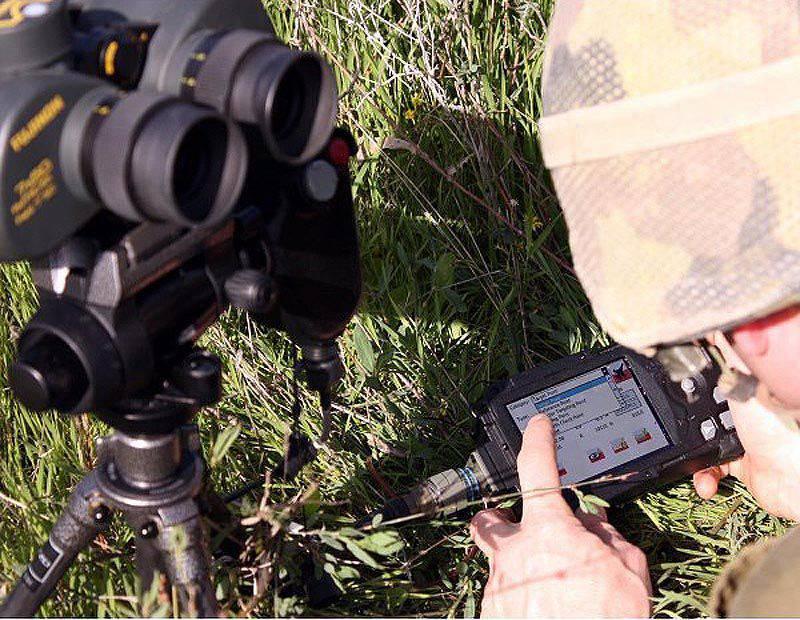 Visão geral da artilharia. Parte do 8. Inteligência, vigilância e sistemas de segmentação