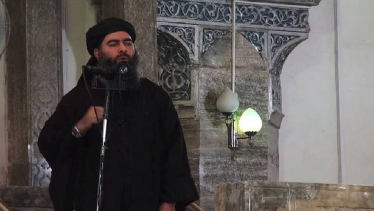 Iraqi air force hit a convoy of cars, one of which was the leader of the ISIS Abu Bakr al-Baghdadi