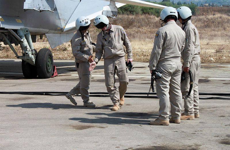 시리아 반테러 작전에 관한 러시아의 견해