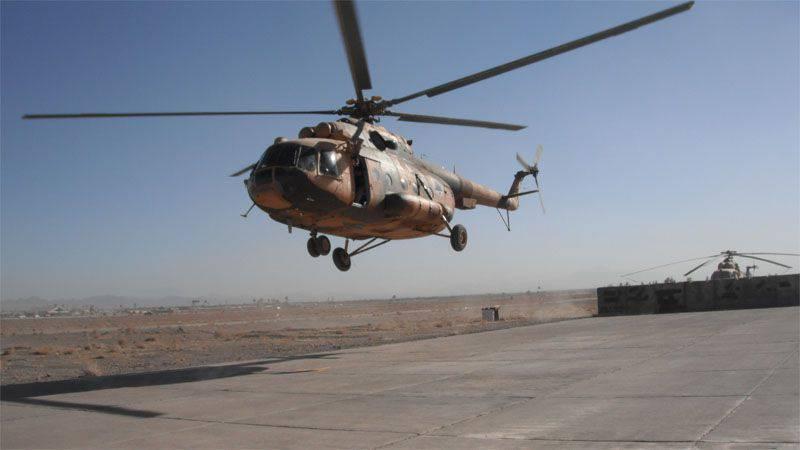 Afganistan'daki bir başka helikopter kazası