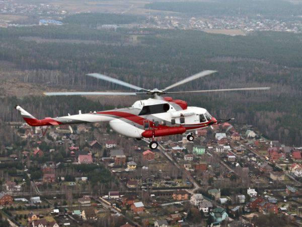 하얼빈 전시회에서 Mi-171A2의 업데이트 버전이 제공됩니다.