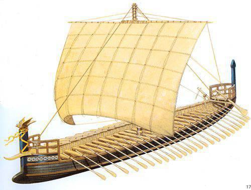 トロイの木馬戦争:船と戦車