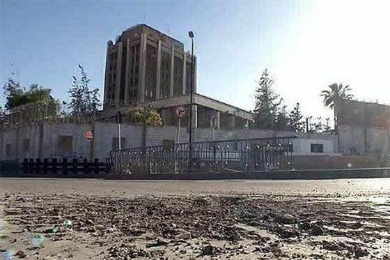 Two mines fell on the territory of the Russian embassy in Damascus