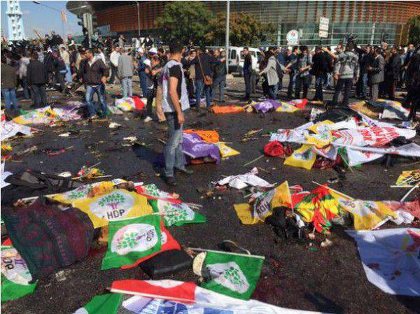 Tragedy in Ankara. Who blows up Turkey?