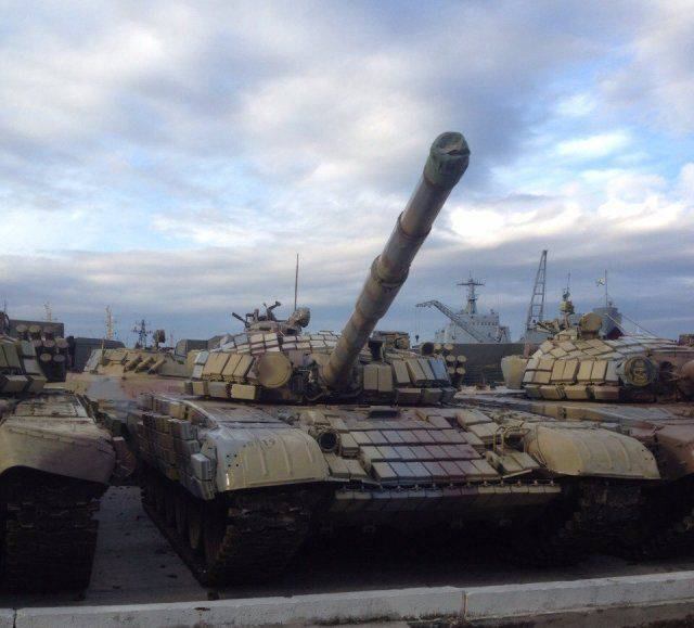 Media: preparing to send to Syria the party of Russian T-72 and BMP-2