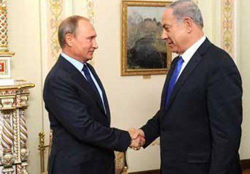 러시아와 이스라엘, 시리아 상공에서 군용 항공기 사이의 사고 방지를위한 상담을위한 핫라인 개설