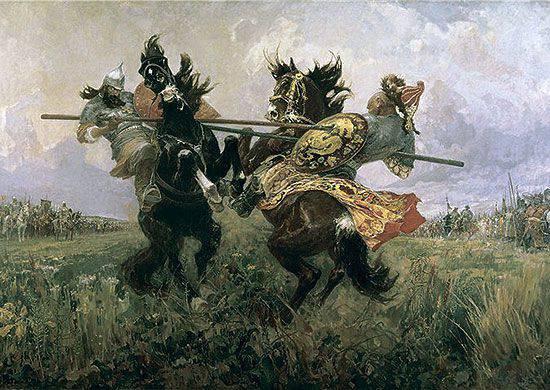 Dmitry Ivanovich Donskoy (no aniversário 665 do nascimento)
