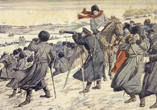 1904-1905 전쟁에서의 러시아 방첩.