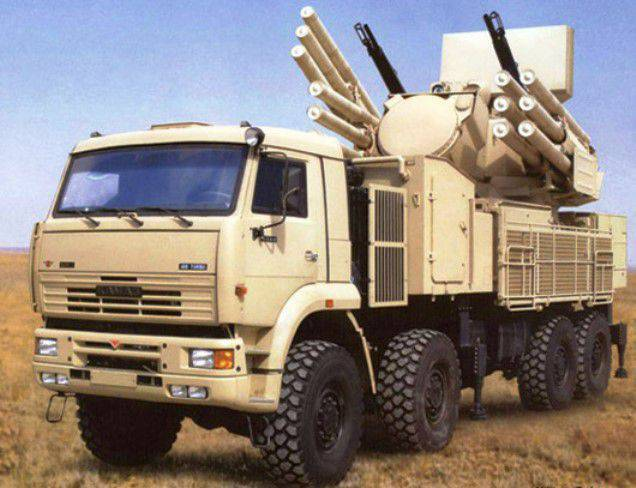 Brazil again postponed the purchase of Russian complexes Pantsir-C 1