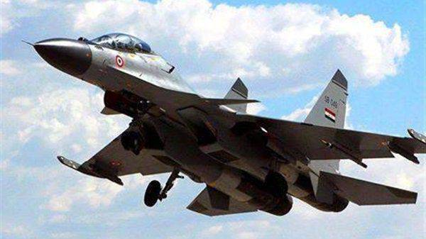 The media, citing the Iraqi Defense Ministry: Iraqi Air Force Su-30 attacked positions of ISIS militants