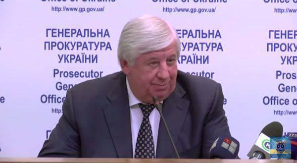 Procureur général d'Ukraine: les Russes ne sont pas impliqués dans les exécutions du Maidan