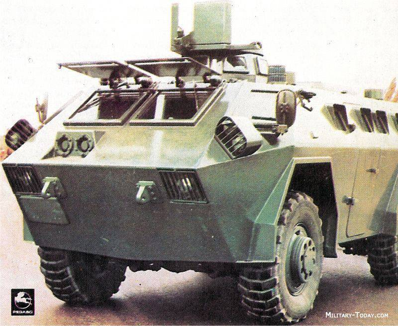 Spanish armored personnel carrier BLR