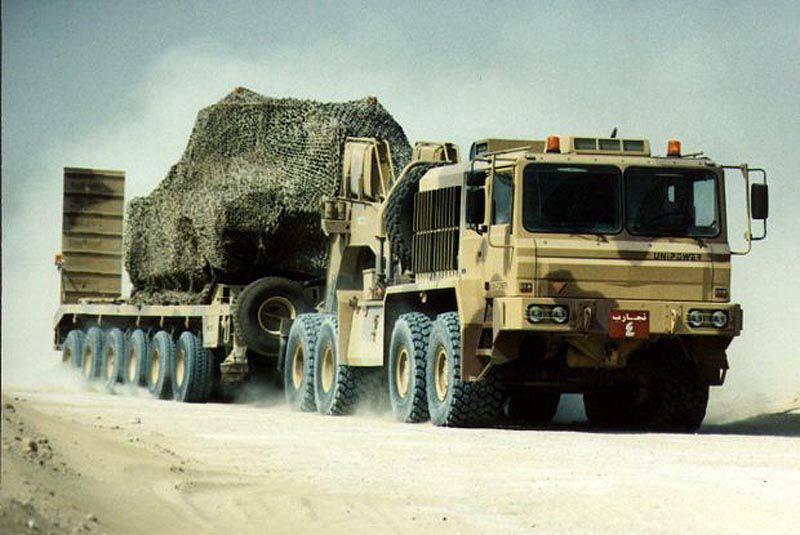Transportador de tanques británico Unipower MH-8875