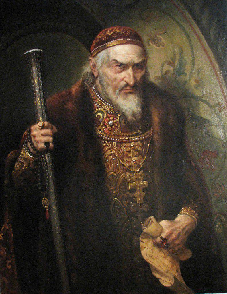 Wand or poison? Ivan the Terrible and his son Ivan in November 1581 of the year