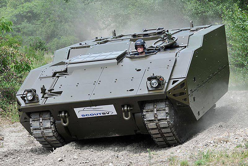 イギリス装甲車近代化計画