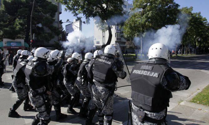 Maidan en Montenegro ... y silencio
