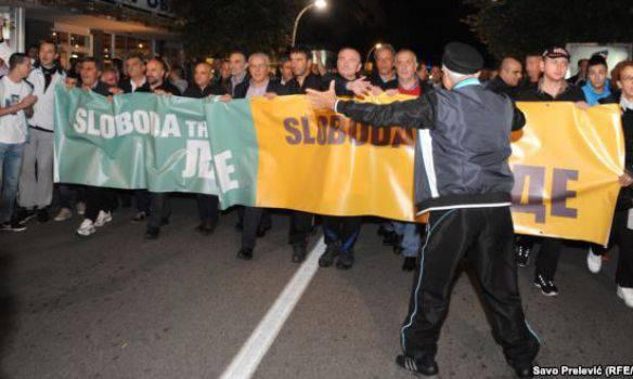 Майдан в Черногории... и тишина