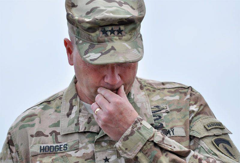 "General Hodges (USA) is sounding the alarm: ""I do not have bridges, I do not have trucks ..."""