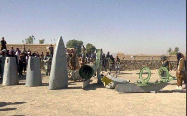 Talibanes afganos golpean al estadounidense F-16