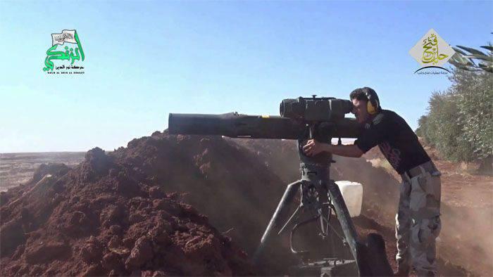 अलेप्पो क्षेत्र में सीरियाई सेना के हमले के दौरान आतंकवादियों के एक बड़े समूह के नेता का सफाया