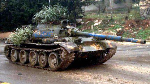 L'eroismo delle petroliere siriane non può compensare i difetti fatali dei carri armati T-55 e T-62