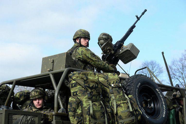 捷克国防部接受加速武器采购的接受