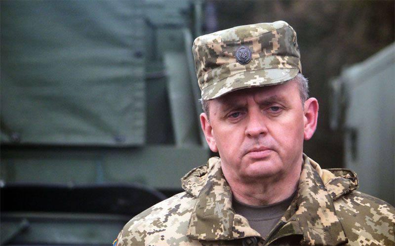 """Viktor Muzhenko en Tbilisi prometió que el ejército georgiano compartirá la """"experiencia de combate"""" con los soldados del ejército ucraniano."""