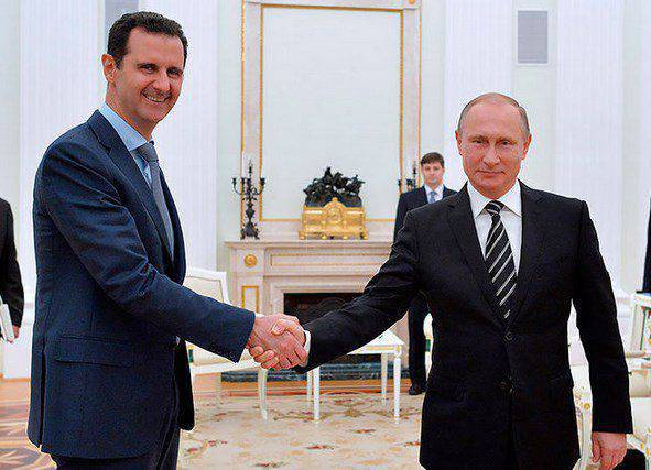 "The reaction of ""friends of Syria"" to Assad's visit to Moscow"