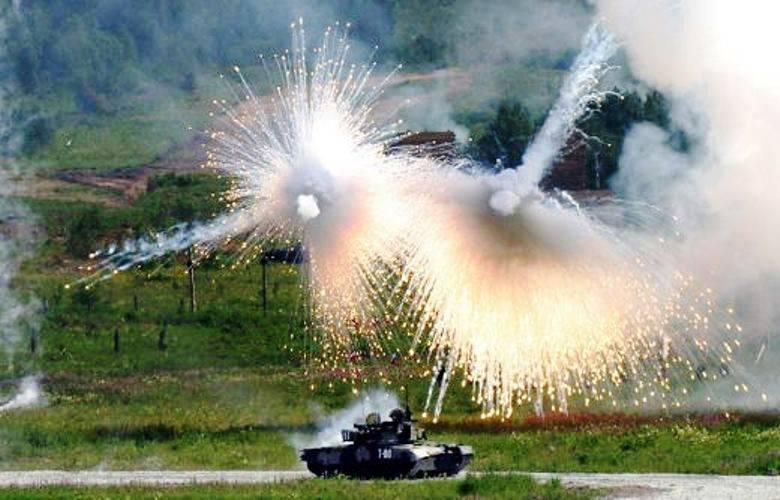 """Los tanques sirios necesitan un complejo de protección """"ciego"""""""