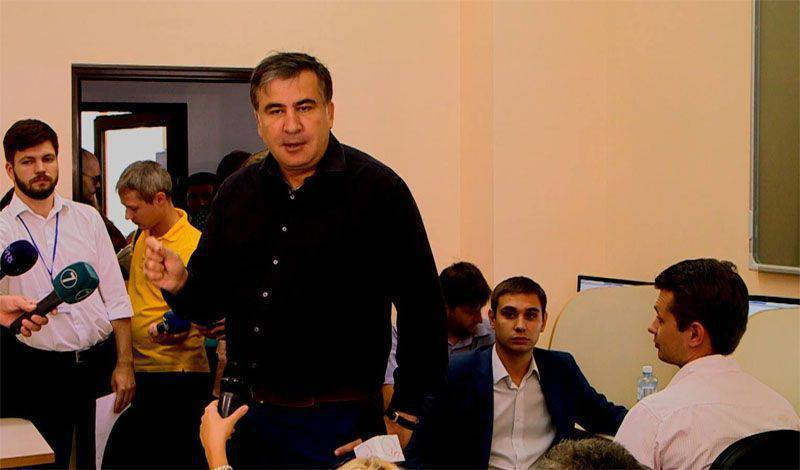 Media: Saakashvili's offices in Georgian cities are attacked