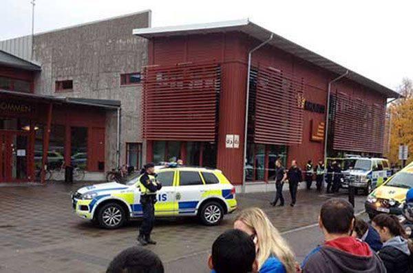 Massacre à l'école suédoise