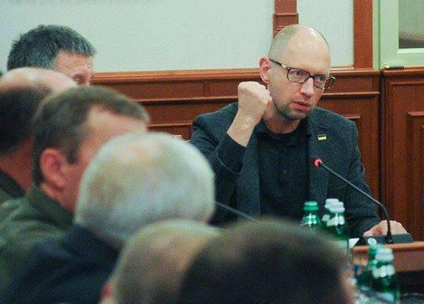 """Amerikan haber yayını: """"Washingtonlu adam Yatsenyuk, yolsuz arkadaşlarının bir grubunu durduramaz"""""""