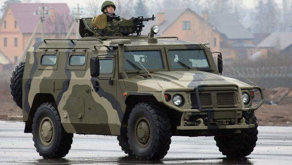 TsVO scouts got Tiger armored cars