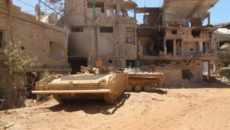 カルタポロフ:シリア軍はいくつかの州で攻撃的な作戦を行っている