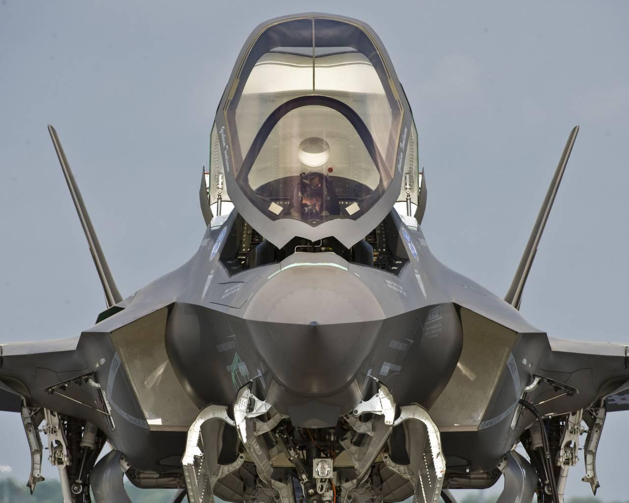 Обои F-35, Самолет 5 поколения, истребитель пятого поколения. Авиация foto 18