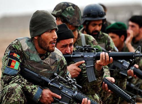Afgan Savunma Bakanlığı: Geçen gün Afgan ordusu 197 militanlarını imha etti