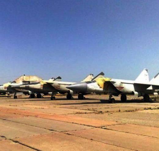 MiG-25 - 시리아 공군의 가장 비밀스러운 항공기