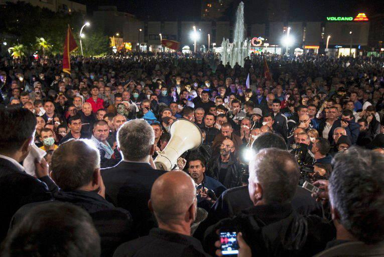 Los líderes de Montenegro vieron la mano de Moscú en la organización de protestas contra el gobierno.