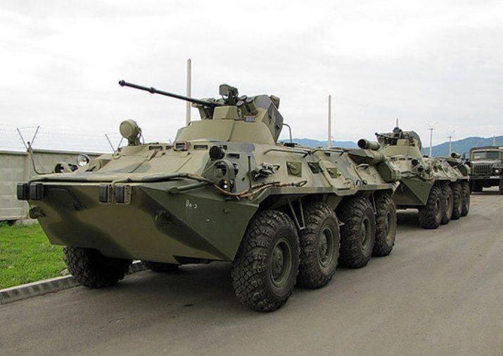 A base de treinamento do Far Eastern College foi reabastecida com novos veículos blindados.