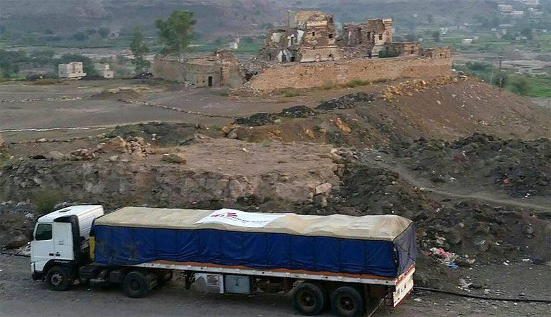 """在也门对医院""""无国界医生""""进行空袭"""