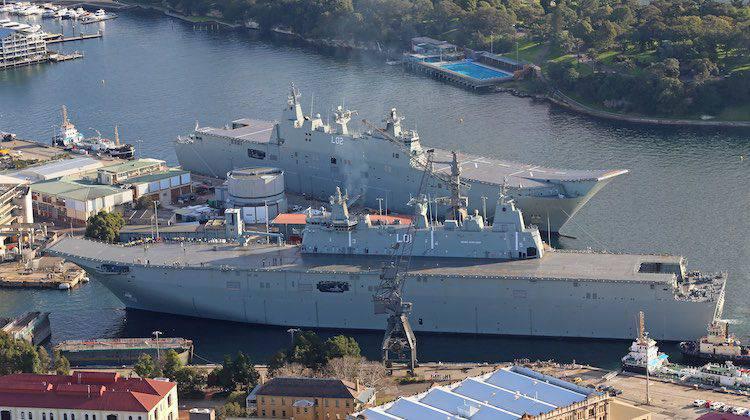 Wird Australien gegen China bestehen?